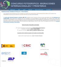 Concurso fotográfico: Migraciones internacionales y fronteras. IX Semana de la Ciencia en el CCHS