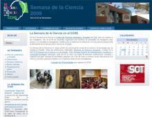 IX Semana de la Ciencia en el CCHS