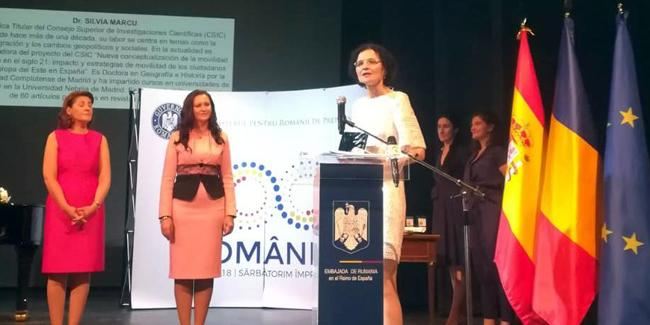 Silvia Marcu (IEGD) es reconocida por el Gobierno rumano como una de los 100 rumanos más influyentes en el mundo