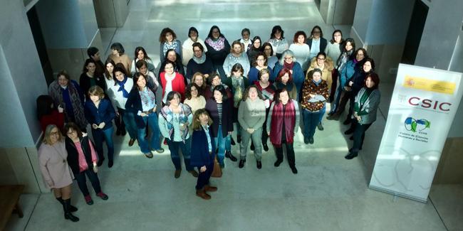 Las mujeres del Centro de Ciencias Humanas y Sociales se unen para visibilizar su trabajo, con motivo del Día Internacional de la Mujer y la Niña en la Ciencia